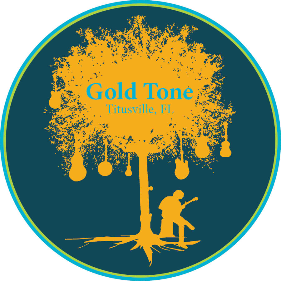 Gold Tone 'In the Shade' Sticker Variety Six Pack